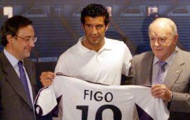 Luis Figo, el primer 'galáctico' de la era Florentino
