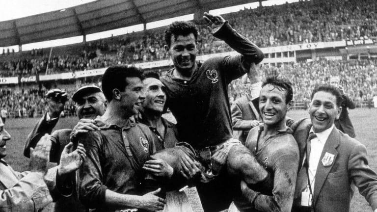 Just Fontaine, el mejor 'Pichichi' en la historia de los Mundiales