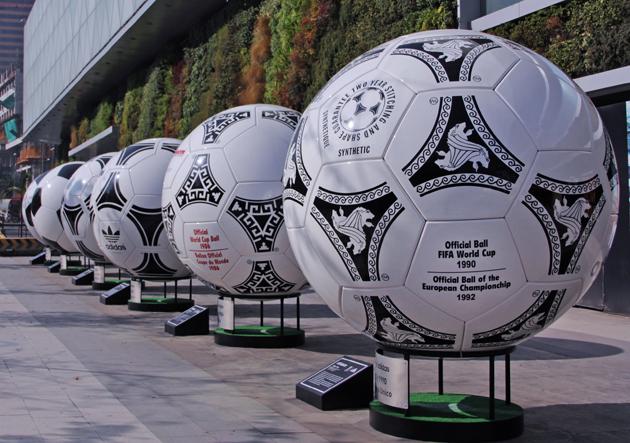 Los mejores balones de la historia del fútbol