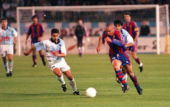 El gol de Ronaldo Nazario al Compostela