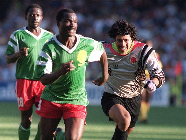 El error de René Higuita contra Camerún en el Mundial de Italia '90