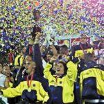 Colombia gana la Copa América 2001 contra México en Bogotá