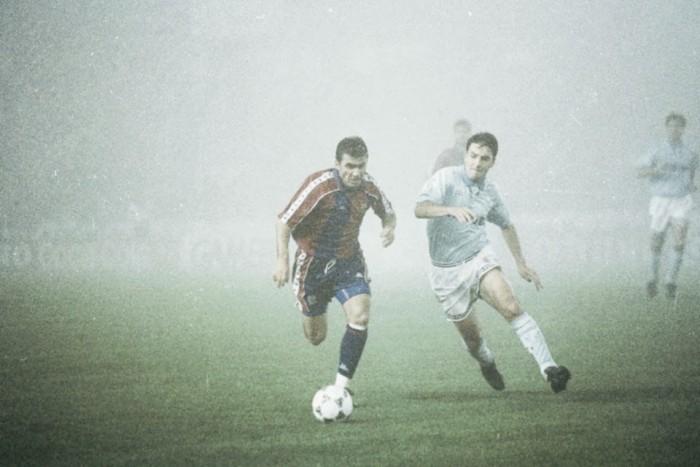 El gol de Hagi al Celta en 'el partido de la niebla'