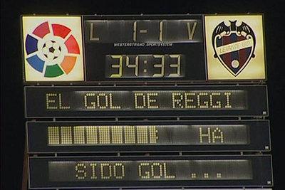 """El gol de Reggi ha sido gol"""