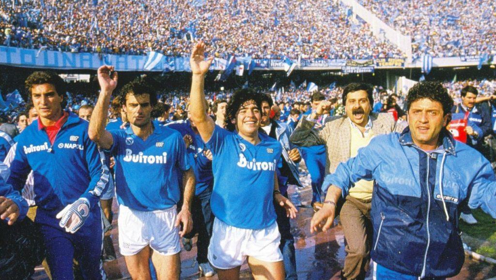 Las dos ligas del Nápoles de Diego Armando Maradona