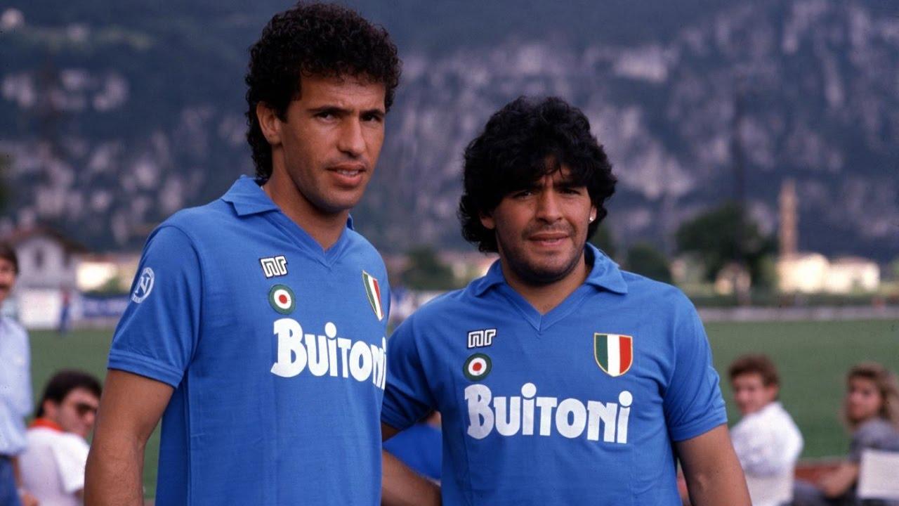 Careca y Maradona