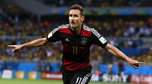 Máximos goleadores de la historia de los Mundiales