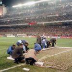 La caída de la portería del Bernabéu que puso en peligro 'La Séptima'