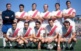 El origen de la camiseta con la franja roja del Rayo Vallecano