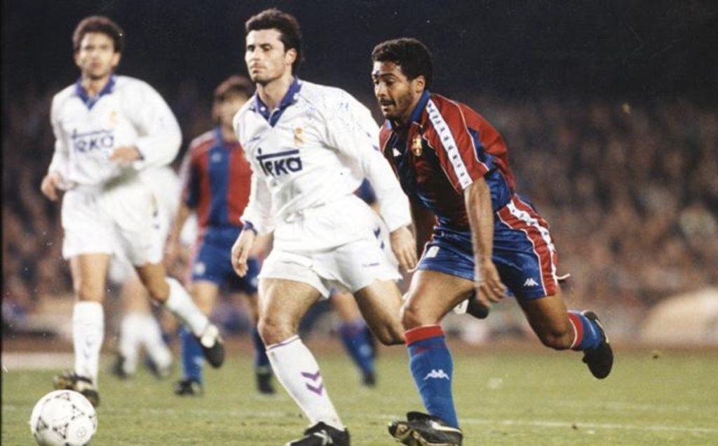 La manita del Barça al Real Madrid y la 'cola de vaca' de Romario