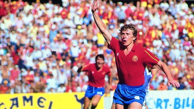 Los cuatro goles de Butragueño a Dinamarca en México '86
