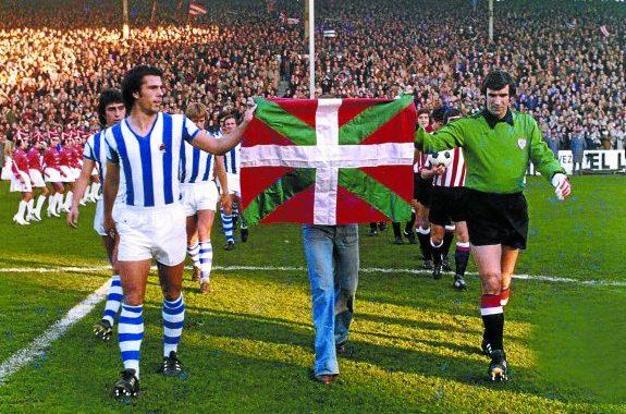Real Sociedad-Athletic Club. El derbi de la ikurriña