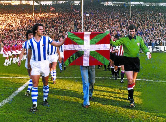 Real Sociedad-Athletic Club. El derbi de la ikurriña