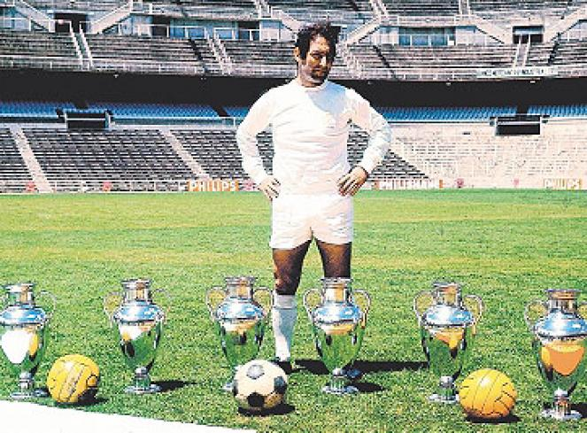 Paco Gento, el hombre de las 12 Ligas y 6 Copas de Europa