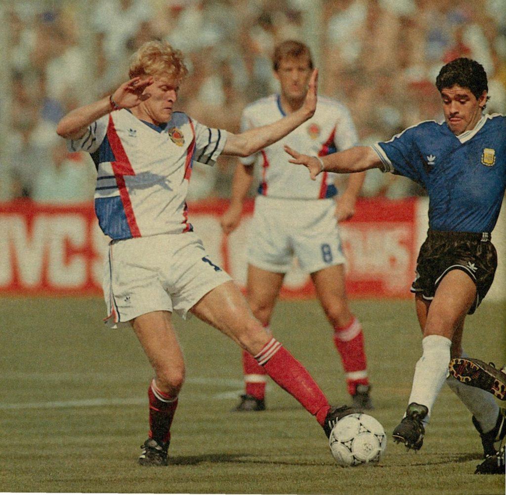 Robert Prosinecki, un caso único en la historia de los Mundiales