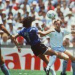 Los dos Gary Stevens de Inglaterra en el Mundial de México '86