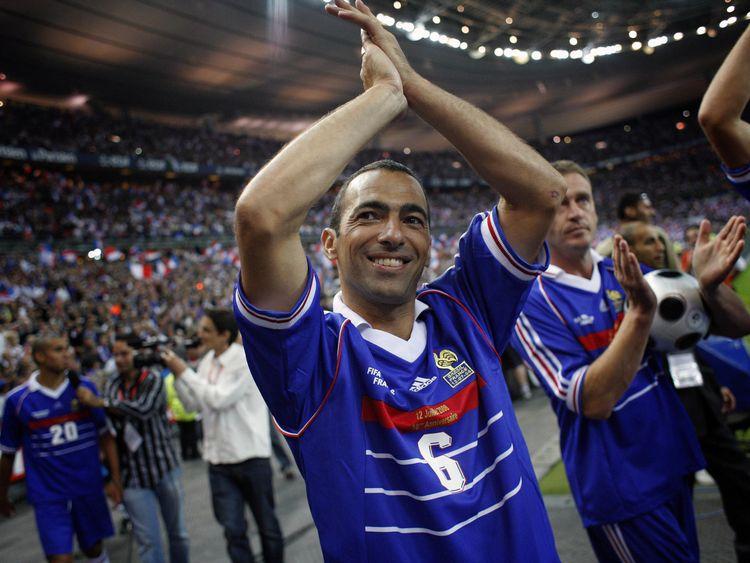 Djorkaeff y Forlán en los Mundiales de 1966 y 2002