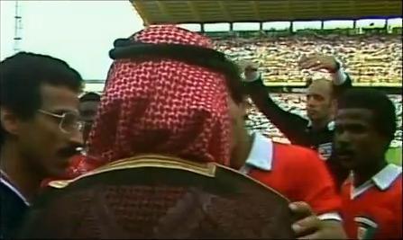El jeque de Kuwait que anuló un gol en el Mundial de España '82