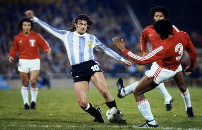 Resultado de imagen para Mario Kempes 1978 perú