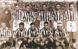 El origen de la camiseta albinegra del CD Castellón y del 'Pam, Pam Orellut'