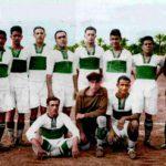El origen de la franja verde en la camiseta del Elche CF