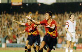 España logra la medalla de oro en los JJOO de Barcelona '92