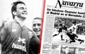 Cuando Osasuna humilló al Real Madrid en el Bernabéu