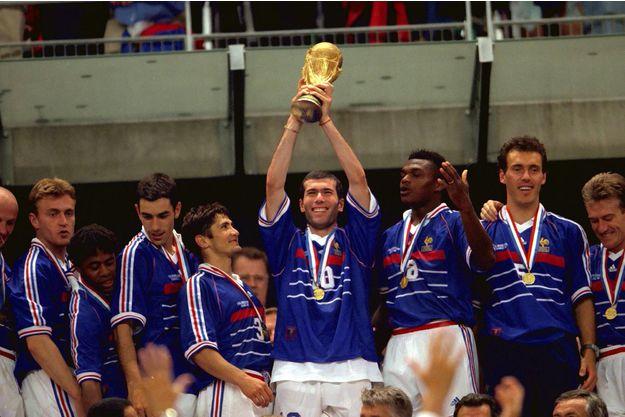 Francia campeona del Mundial '98