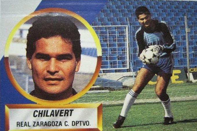 Chilavert en el Real Zaragoza