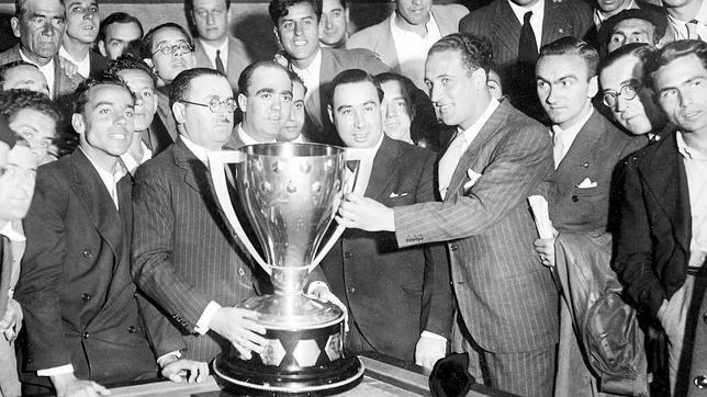 El Real Betis campeón de Liga