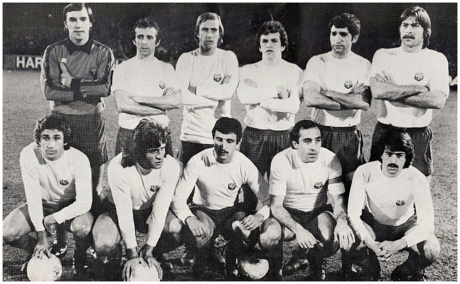 El Barça de blanco