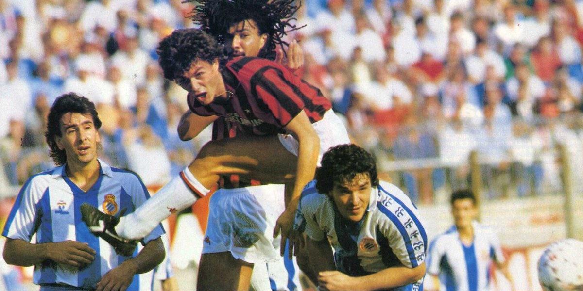 El día que el Espanyol de Javier Clemente derrotó al Milan de Arrigo Sacchi