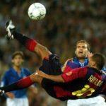 La chilena de Rivaldo contra el Valencia
