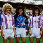 El Real Valladolid de los colombianos