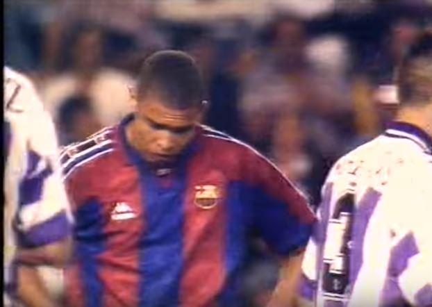 El mejor Ronaldo dijo adiós a la liga en su debut en Valladolid