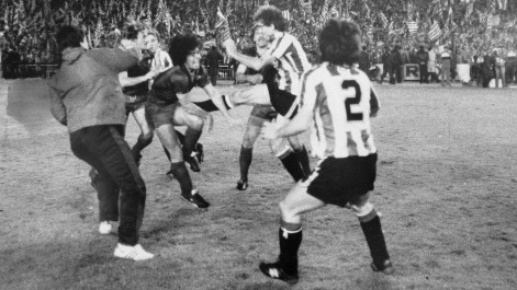 La batalla campal de la final de 1984