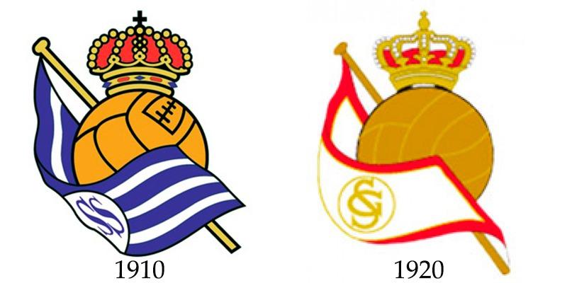 El día que el Sporting 'copió' el escudo a la Real Sociedad