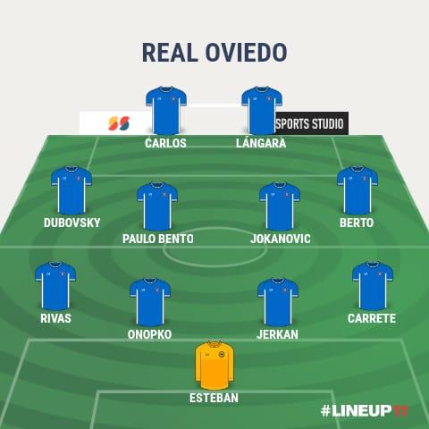 Mejor 11 histórico del Real Oviedo