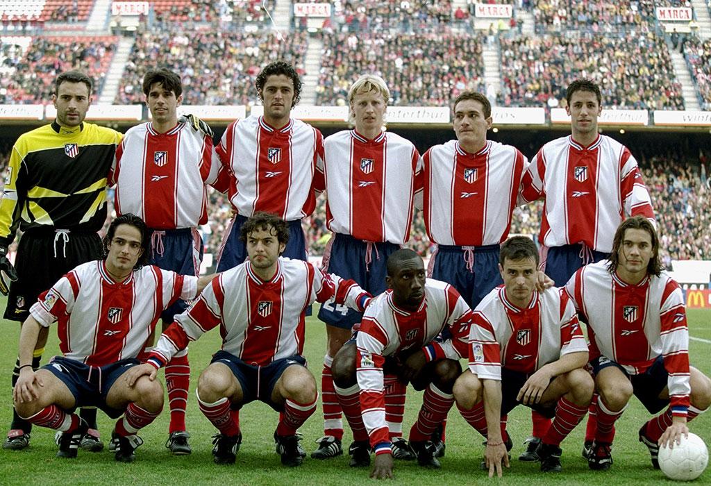El Atlético que descendió a Segunda División