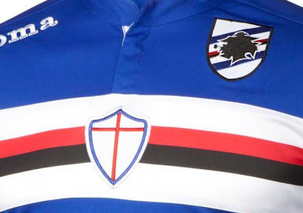 Camiseta de la Sampdoria