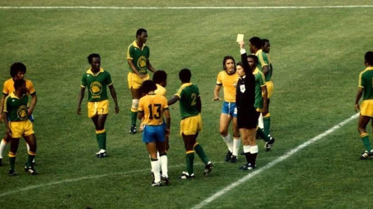 La jugada más surrealista de la historia de los Mundiales se produjo en un Brasil-Zaire