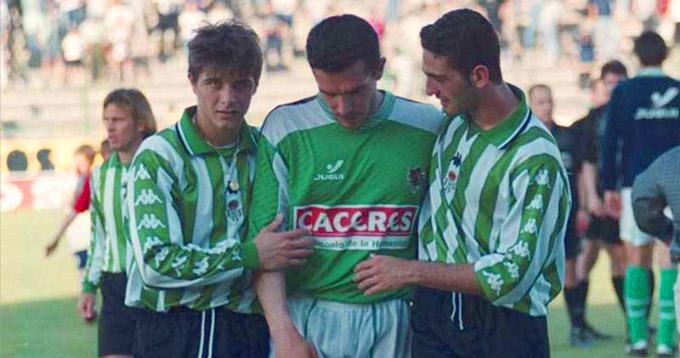 La primera equipación que le regalaron a Joaquín Sánchez... no fue la del Betis