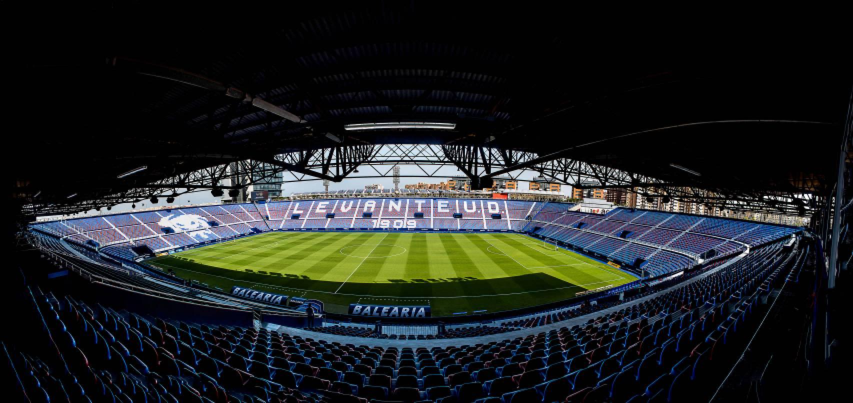Ciutat de València, estadio del Levante UD
