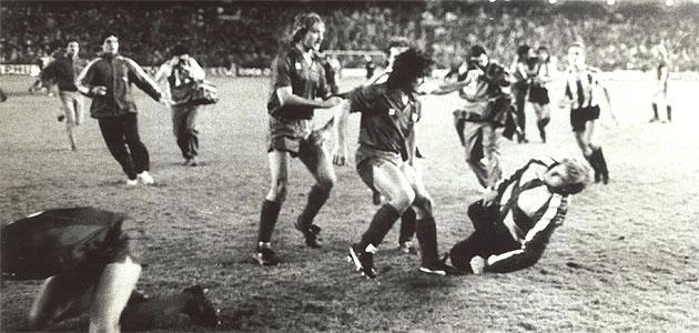 La pelea en la final de 1984