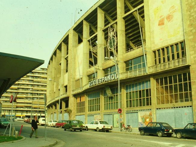 Estadio de Sarrià, antigua casa del RCD Espanyol