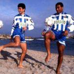 Algunas de las camisetas más míticas de los años 90 en la Liga española