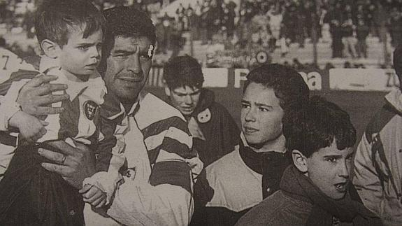 El día que Maradona y Simeone fueron a Las Gaunas