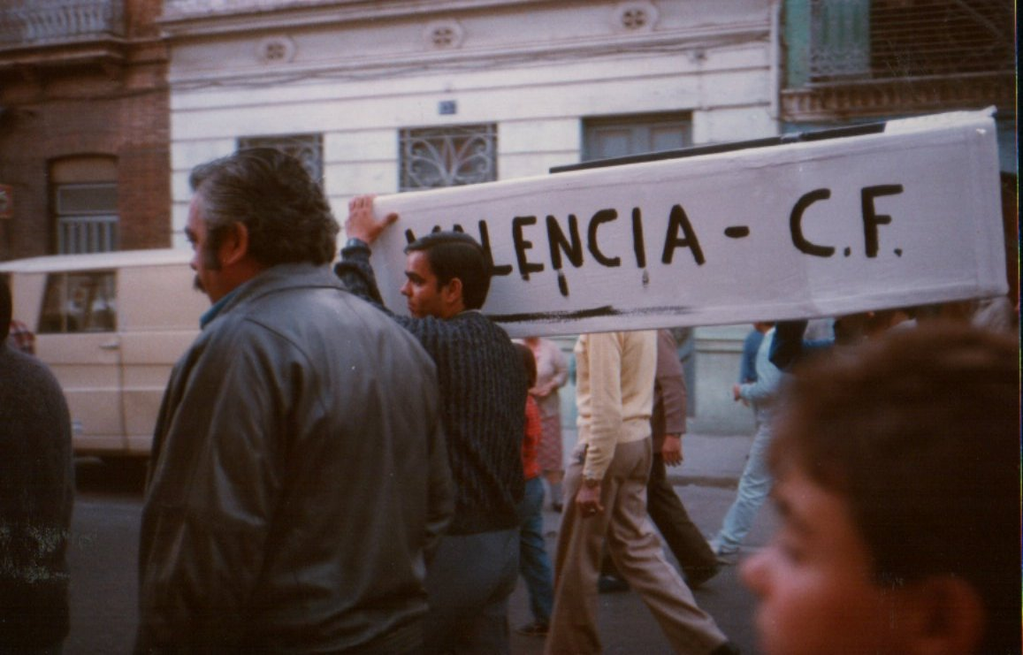 Descenso del Valencia CF