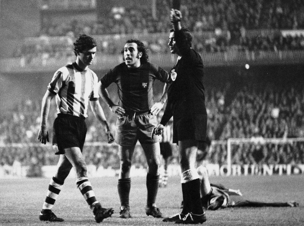 El puñetazo de Ángel María Villar a Cruyff que le costó 100.000 pesetas de multa