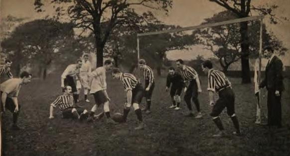Cuando en el fútbol no había árbitro porque no hacía falta